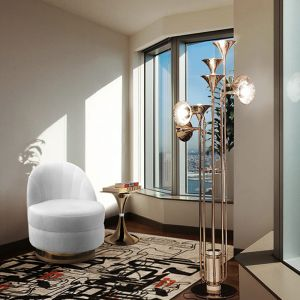 Botti floor lamp in a ambience