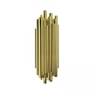 Delightfull Brubeck wall sconce gold Plated