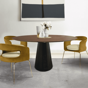 Bertoia Round Dining Table
