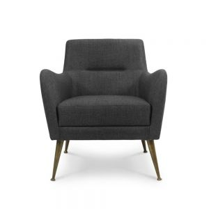 Essential Home Dandridge Armchair Textile Rickey Black