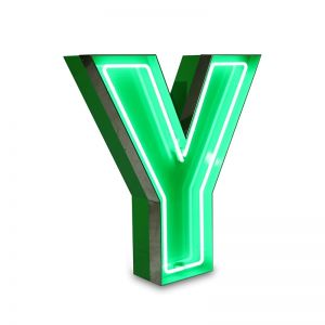 LETTER Y GRAPHIC