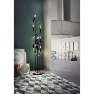 Ike 10 Floor Lamp
