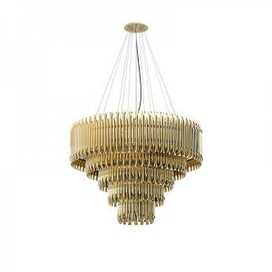 MATHENY 5 ARCS CHANDELIER