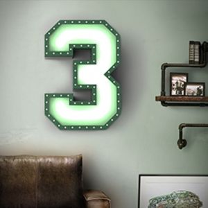 NUMBER 3 GRAPHIC