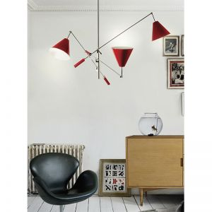 Sinatra suspension light living room ambience